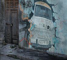 The Car by Geraldine (Gezza) Maddrell