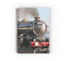 Steam Train King Edward No 6024 Spiral Notebook