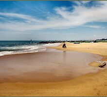 SAND SEA & BICYCLES by ronsaunders47