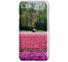 COWS AND TULIPS iPhone Case/Skin
