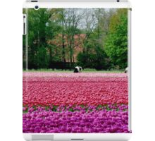 COWS AND TULIPS iPad Case/Skin