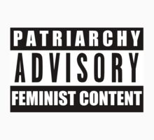 PATRIARCHY ADVISORY by SoullessHuman