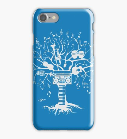 Melody Tree - Light Silhouette iPhone Case/Skin