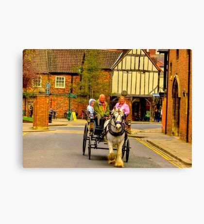 One Horse Power - York Canvas Print