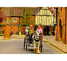 One Horse Power - York Photographic Print