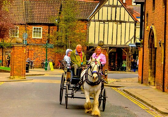 One Horse Power - York by Trevor Kersley
