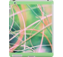 Blowing in the wind - abstract 5 iPad Case/Skin