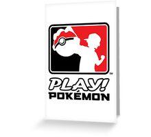 Play Pokemon Greeting Card