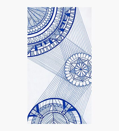 Mandala Web Photographic Print