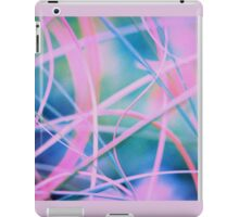 Blowing in the wind - abstract 6 iPad Case/Skin