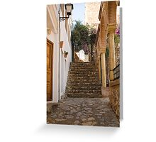 White Village Spain Greeting Card