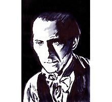The Gentle Man of Horror Photographic Print
