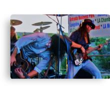 Eric Sardinas and Levell Price of Big Motor band Canvas Print
