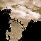 London Eye - Hiding Behind Shadows by serepink