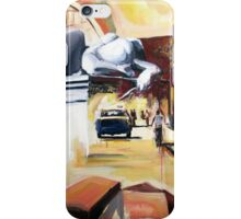 Angel upon us iPhone Case/Skin