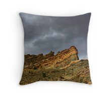 Before Time Began Throw Pillow