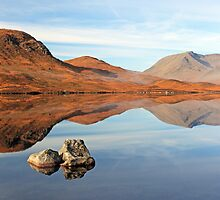 Blackmount reflection by Photo Scotland