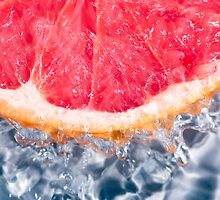 Fresh Grapefruit by Charlotte Lake