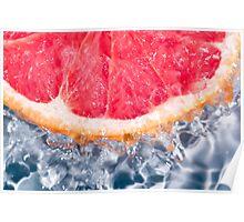 Fresh Grapefruit Poster