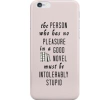 Good novel iPhone Case/Skin