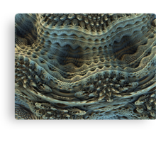 Knitted Ivory Canvas Print