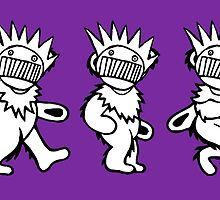 Ween Boognish / Grateful Dead Dancing Bears by Cornbread Red