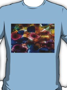 Sea Flowers and Mermaid Gardens - Take 2 - Horizontal T-Shirt