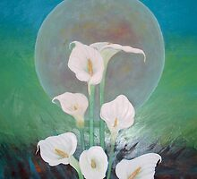 """""""Singing, Dancing Lilies"""" by TigerL"""