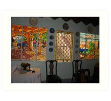 Beautiful abode Art Print