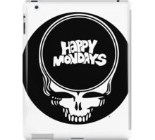 Happy Mondays / Grateful Dead Steal Your Face  iPad Case/Skin