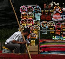 Xochimilco Dolls for Sale by satsumagirl