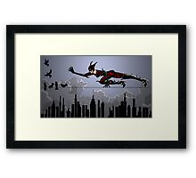 High Wire Framed Print