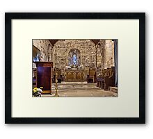 The Chancel Framed Print