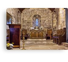 The Chancel Canvas Print