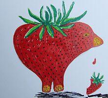 Strawpiggy. by Caroline Maddison