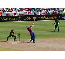 Hit it for six, it's cricket Photographic Print
