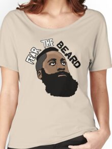 James Harden: Fear the beard  Women's Relaxed Fit T-Shirt