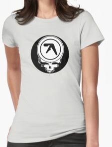 Aphex Twin / Grateful Dead Steal Your Face  Womens Fitted T-Shirt