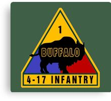 4th Battalion 17th Infantry Regiment (US Army) Canvas Print