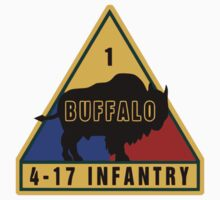 4th Battalion 17th Infantry Regiment (US Army) Kids Tee