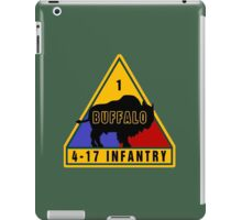 4th Battalion 17th Infantry Regiment (US Army) iPad Case/Skin