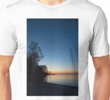 Orange Dawn Chasing the Blue Night Away Unisex T-Shirt