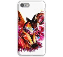 Flying Owl iPhone Case/Skin
