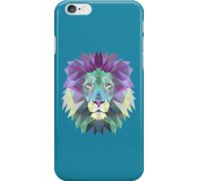 Geometric Lion iPhone Case/Skin