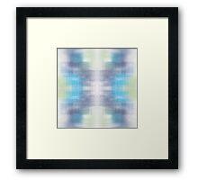 Aurora Static Original Digital Pattern Framed Print