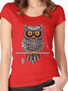 Watching you Women's Fitted Scoop T-Shirt