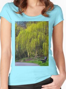 Wind in the Willows Women's Fitted Scoop T-Shirt