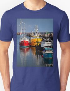 Fishing boats in harbour T-Shirt