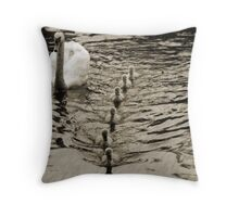 ... IN A ROW Throw Pillow