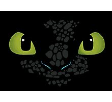 Toothless How to train your dragon Photographic Print